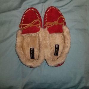 Sperry top spider slippers 7 medium